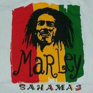 Bob Marley Bahamas Souvenir t shirt M reggae rock